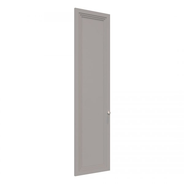 Art Deco wardrobe door in Pebble Grey