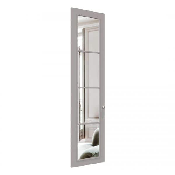 Chelsea wardrobe door in Pebble Grey
