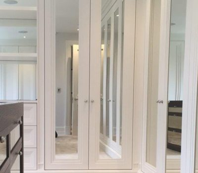 Art Deco Mirror Wardrobe