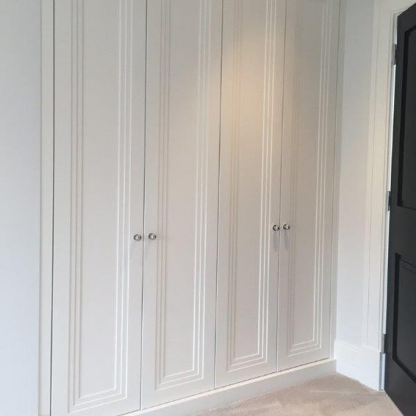 Deco painted wardrobe