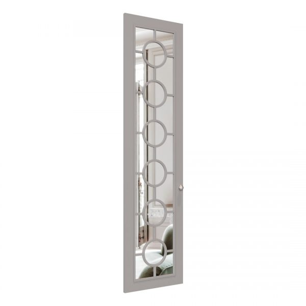 Pop wardrobe door in Pebble Grey