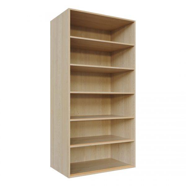 C4 carcass - Adjustable Shelving unit (W1000mm x H2000mm shown)