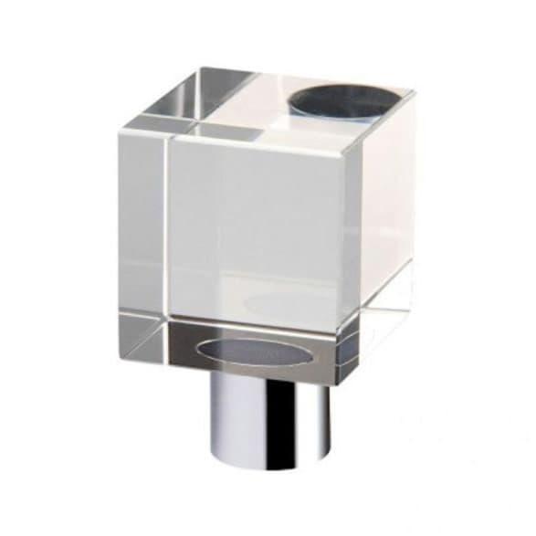 Cube wardrobe handle